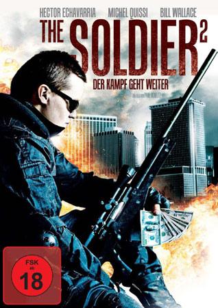 Der schlafende Wolf mit Alternativtitel The Soldier 2 Cover