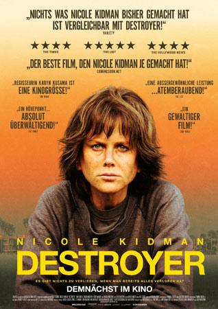 Destroyer mit Nicole Kidman Poster