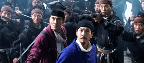 Detective Dee und die Legende der vier himmlischen Könige mit Mark Chao als Detective Dee