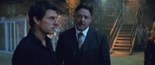 Die Mumie Tom Cruise und Russell Crowe