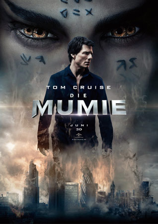 Die Mumie Tom Cruise Filmplakat
