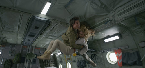 Die Mumie Tom Cruise und Annabelle Wallis beim Flugzeugabsturz
