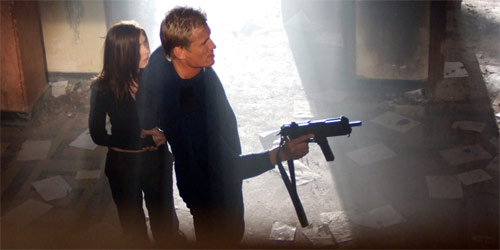 Direct Contact mit Dolph Lundgren in Action