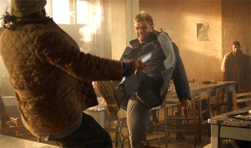 Dolph Lundgren mit Kick