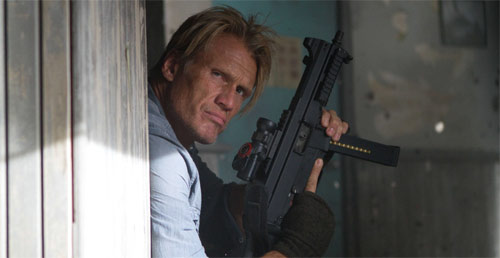 Dolph Lundgren als Gunner in The Expendables 2