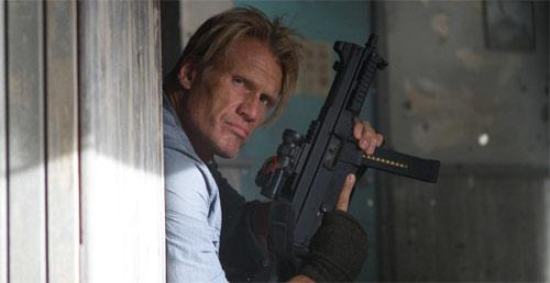 Dolph Lundgren als Gunner in The Expendables 2