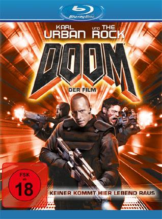 Doom Blu-ray Cover
