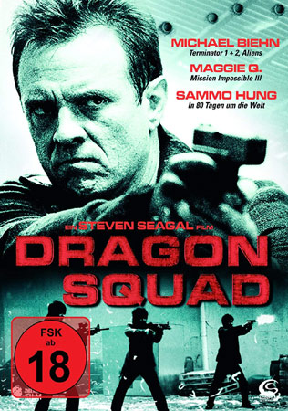 Dragon Squad mit Michael Biehn DVD Cover