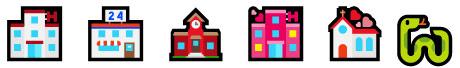 Emojis stellen Filmtitel dar