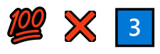 Filmtitel mit Emojis dargestellt