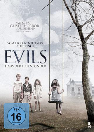 Evils - Haus der toten Kinder Horror DVD Cover