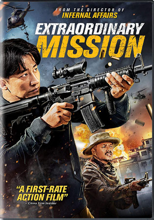 Extraordinary Mission DVD Cover
