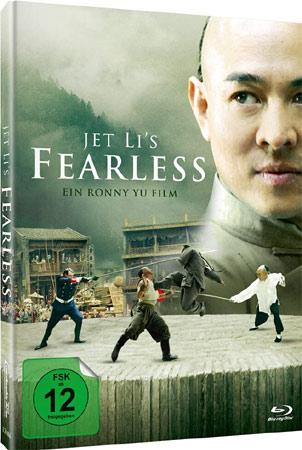 Fearless mit Jet Li im Mediabook