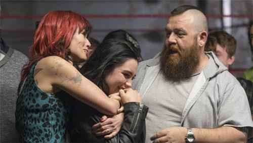 Saraya alias Paige mit ihren Eltern