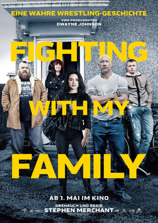 Fighting with my Family deutsches Poster