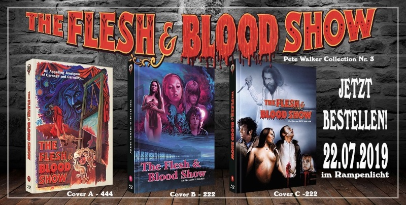 The Flesh & Blood Show - Cover A, B und C