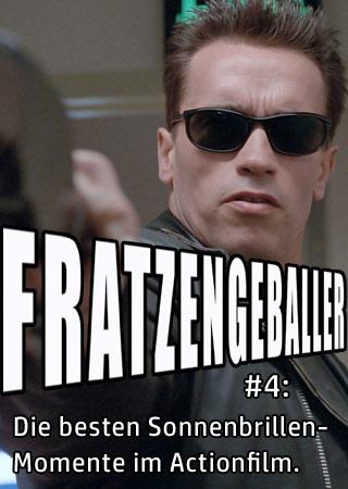 Fratzengeballer der Actionfreunde-Podcast zum Thema Sonnenbrillen in Actionfilmen