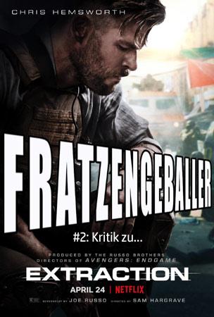 Fratzengeballer - Actionfreunde Podcast mit Kritik zu Tyler Rake Extraction