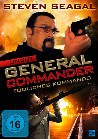General Commander mit Steven Seagal DVD Cover