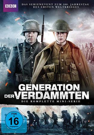 Generation der Verdammten deutsches DVD Cover