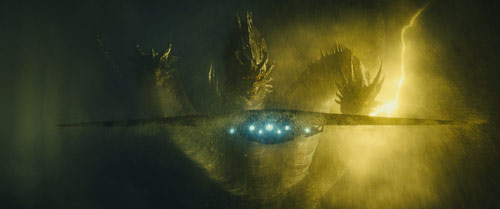 Godzilla: King of the Monsters mit Ghidorah