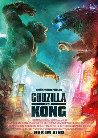 Godzilla vs. Kong lässt es in deutschen Kinos krachen