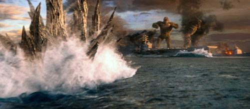 Godzilla vs. Kong Seeschlacht