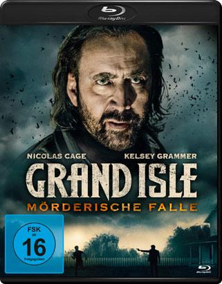 Grand Isle - Mörderische Falle DVD Cover