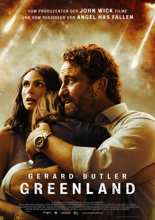 Greenland Poster mit Gerard Butler