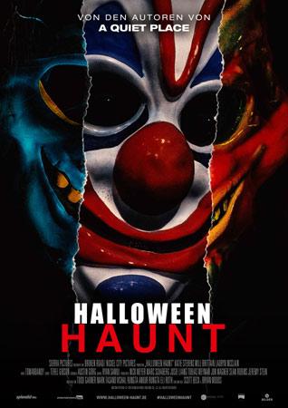 Halloween Haunt Poster der Eli Roth Produktion