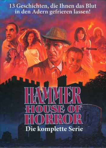 Hammer House of Horror Cover