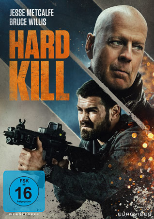 """Hard Kill"" mit Bruce Willis DVD Cover"
