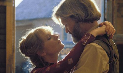 Kris Kristofferson und Isabelle Huppert im Film von Michael Cimino