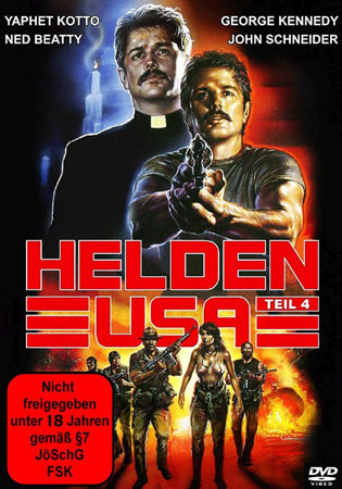 Helden USA 4 - Ministry of Vengeance DVD Cover