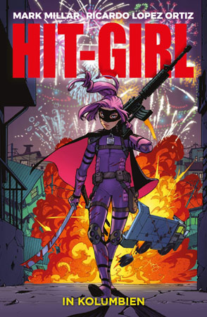 Hit-Girl in Kolumbien Cover