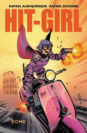 Hit-Girl in Rom deutsches Cover