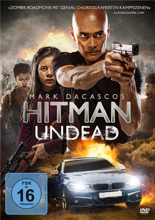 Hitman Undead aka The Driver mit Mark Dacascos DVD Cover