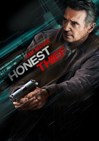 Honest Thief mit Liam Neeson Poster
