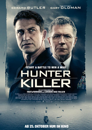 Hunter Killer deutsches Plakat