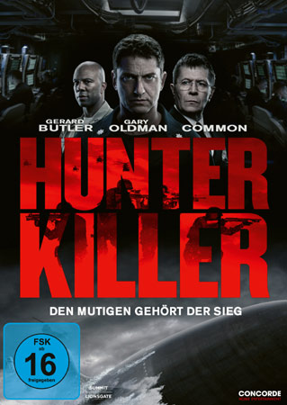 Hunter Killer deutsches DVD Cover