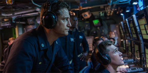 Hunter Killer mit Gerard Butler im U-Boot