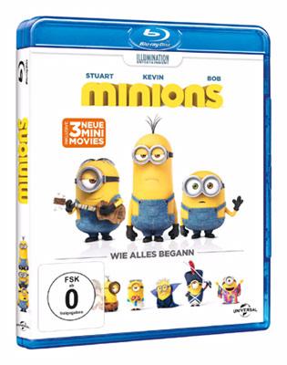 Ich - Einfach unverbesserlich 3 Minions Blu-ray