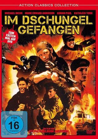 Im Dschungel gefangen mit Michael Biehn DVD Cover
