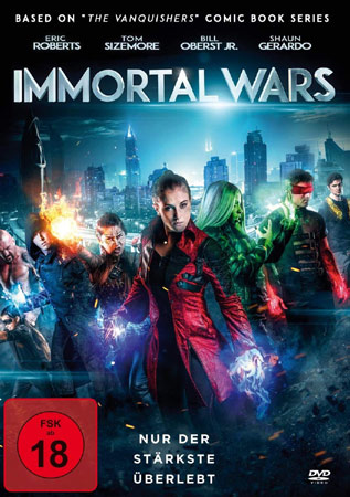 Immortal Wars mit Eric Roberts DVD Cover
