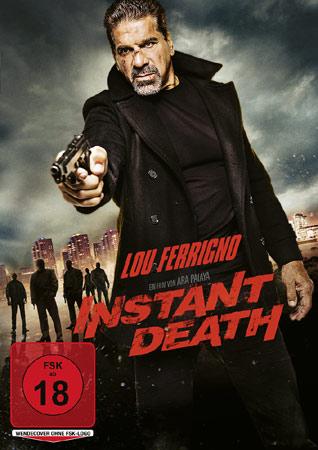 Instant Death mit Lou Ferrigno DVD Cover