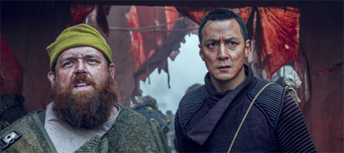 Into the Badlands (Season 2) Daniel Wu und Nick Frost