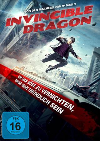 Invincible Dragon deutsches DVD Cover