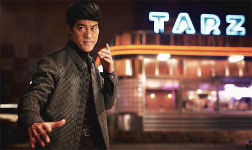 Danny Chan als Bruce Lee im letzten Teil der Filmbiografie