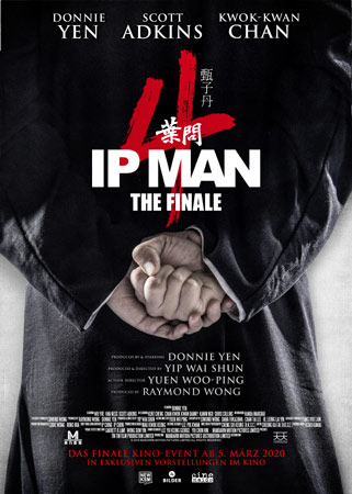 Ip Man 4: The Finale deutsches Poster