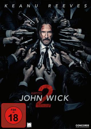 John Wick: Kapitel 2 DVD Cover